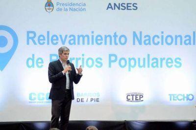 Se presentó el Programa de Relevamiento Nacional de Barrios Populares