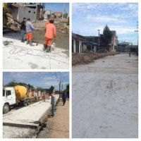 El Municipio realiza mejoras en el Barrio Obrero y asfalta sus accesos