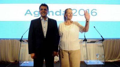 Massa y Margarita, a la cabeza de la lista de Senadores: ¿Randazzo podría tener un lugar?