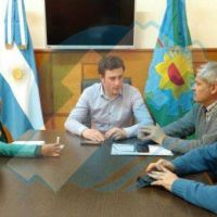 25 de Mayo: Ralinqueo recibi� funcionarios bonaerenses y busca mejorar el Parque Industrial