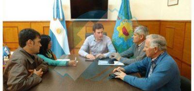25 de Mayo: Ralinqueo recibió funcionarios bonaerenses y busca mejorar el Parque Industrial