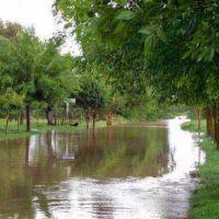 El exceso de lluvias tambi�n provoca inconvenientes en pueblos de La Pampa