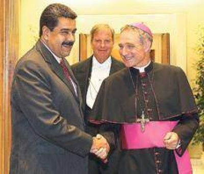 Francisco abri� un canal de di�logo en Venezuela