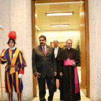 Con la mediaci�n del Papa, Maduro y la oposici�n inician un di�logo pol�tico