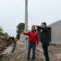 El intendente Bucca present� la obra de entubamiento en Anteo Gasparri