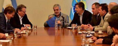 Bono: Das Neves y las constructoras analizaron la ejecución de más de 300 obras públicas