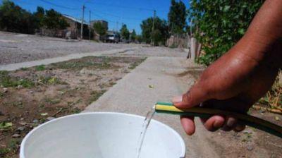 La planta de agua potable de Cipolletti no está funcionando