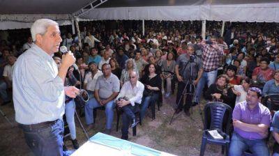 Neder habilitó la Muestra Itinerante del PJ en Añatuya