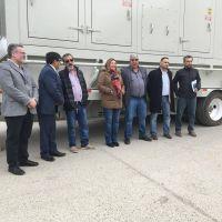 Ushuaia cuenta con nuevos generadores de energ�a para suplantar a la turbina Rolls Royce