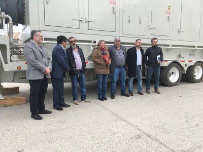 Ushuaia cuenta con nuevos generadores de energía para suplantar a la turbina Rolls Royce