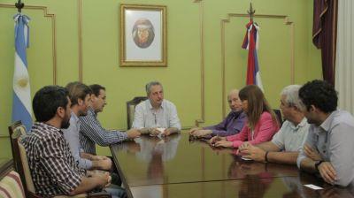 Passalacqua recibió a representantes del Banco Mundial