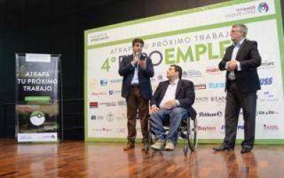 Jorge Macri junto a Triaca estuvieron en la Expo Empleo 2016