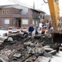 Comenzaron los trabajos de pavimento en calle Bol�var