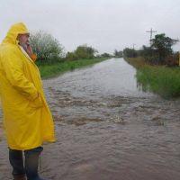 Por las inundaciones, el gobernador pidi� la emergencia a Naci�n