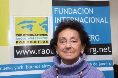 Murió Irene Dab, sobreviviente del Holocausto