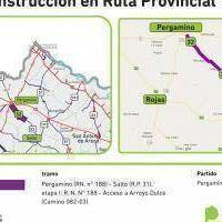 Repavimentan ruta 32 entre Salto y Pergamino