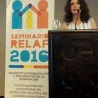 Mirta Mobell�n disert� en Panam� sobre el alcance de Familia Solidaria
