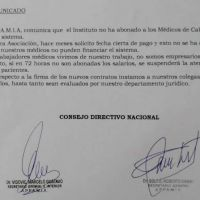 Pol�mica: Por falta de pago, m�dicos de cabecera suspender�an la atenci�n a afiliados de PAMI