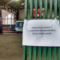Paro de Jer�rquicos afecta al servicio de trenes en la Provincia