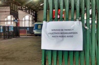 Paro de Jerárquicos afecta al servicio de trenes en la Provincia
