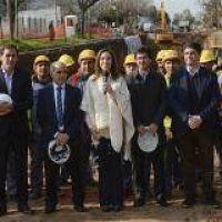 Presupuesto 2017: Vidal destin� 17 millones para obras en San Pedro