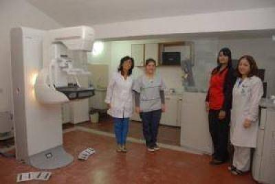 El único mamógrafo que funciona es el del Hospital San Juan Bautista