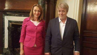 Gustavo Vera apoyó en su cargo a Alejandra Gils Carbó