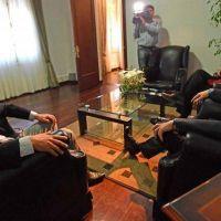 Luque afirm� que el gobernador tiene en Comodoro a un aliado