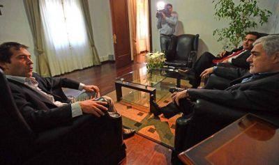 Luque afirmó que el gobernador tiene en Comodoro a un aliado