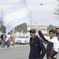Guilford: ayer hubo una manifestaci�n en la ruta