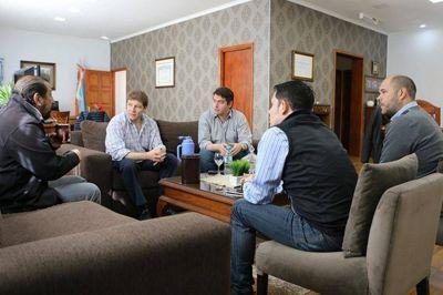 Melella se reunió con diputados por situación social e industrial