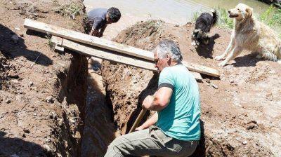 Planificarán obras para evitar que los canales se rebalsen