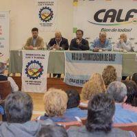 Luz y Fuerza juega fuerte el respaldo pol�tico a CALF