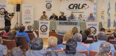 Luz y Fuerza juega fuerte el respaldo político a CALF
