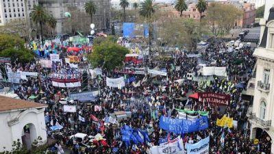 Sin la CGT, las CTA marchar�n a Plaza de Mayo con organizaciones sociales