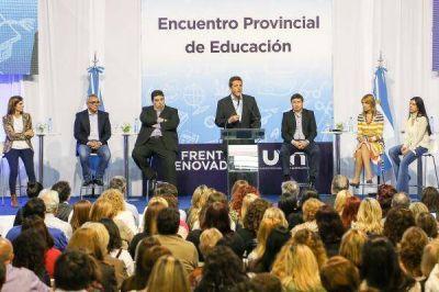 Encuentro provincial de educación del Frente Renovador en Tigre