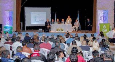 Millonaria inversión en obra hídrica para calidad de vida y la producción