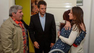 Sergio Massa, junto a las Madres del Dolor: