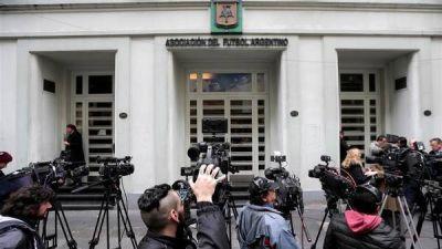 Otro escándalo en AFA: insultos y pelea entre dos dirigentes