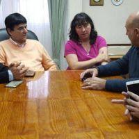 El Subsecretario de Deportes bonaerense visit� Saladillo y Roque P�rez