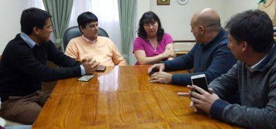 El Subsecretario de Deportes bonaerense visitó Saladillo y Roque Pérez