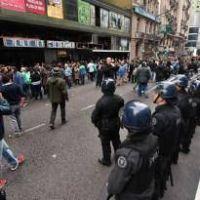 Enfrentamientos y heridos en un congreso de ATE en el Bauen