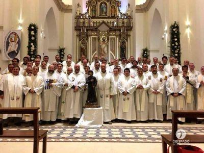El clero de Río Cuarto se congregó en Cura Brochero