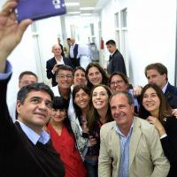 Vidal: �Despu�s de mucho tiempo, se hacen obras en m�s de 45 hospitales�
