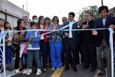 Corpacci inauguró tendido eléctrico en FME