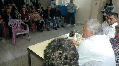 Bº SAN MARTÍN: El Intendente Infante dialogó con los vecinos y prometió mejoras para el sector