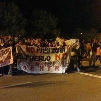 Protesta en Villa Parque Santa Ana contra la futura planta