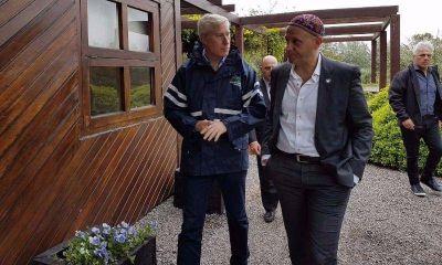 Remeros, junto al ministro Bergman, recorrieron Complejo Ambiental CEAMSE