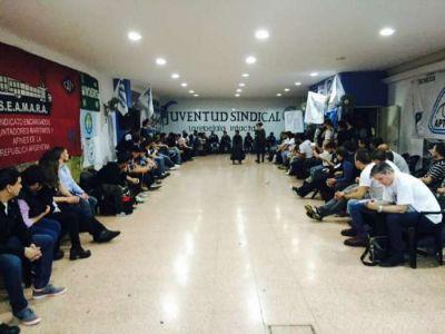 La Juventud Sindical realizó su primer plenario
