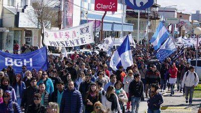 Más de 6 mil personas marcharon en la jornada de paro de la UOM